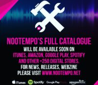News. Nootempo's Artists online on major digital music stores